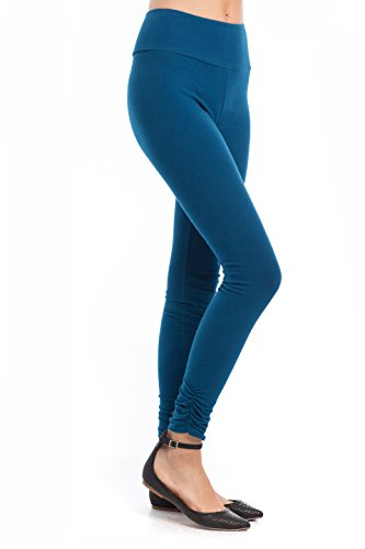 Synergy Organic Clothing athleisure Hannah Legging Poseidon