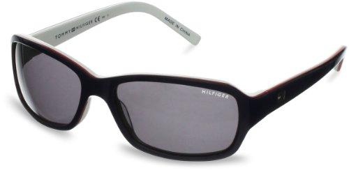Tommy Hilfiger Unisex-Erwachsene TH 1148/S 08 Sonnenbrille, Schwarz (Red White Bluee), 53 Preisvergleich