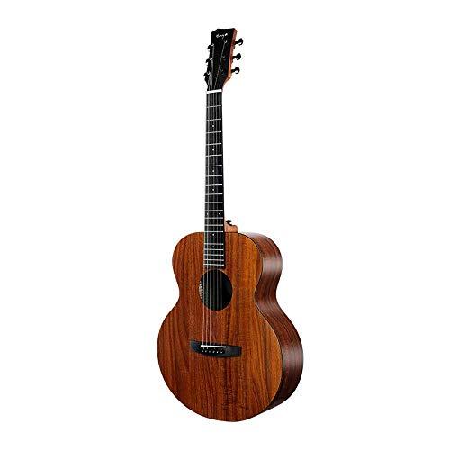 Boll-ATur 36 Zoll / 41 Zoll Single Board Reise-Akustikgitarre Akazienholz Qualität Anfänger Einführung Ebenholz Griffbrett Gitarre Handpoliert Rib Bone Bridge Gitarre (Color : 41