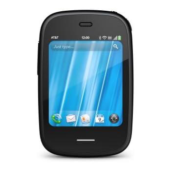 HP Veer Smartphone (6,6 cm (2,6 Zoll) Display, Touchscreen, 5 Megapixel Kamera) schwarz