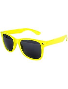 Nerdbrille Sonnenbrille Stil Brille Pilotenbrille Vintage Look - Ca 100 verschiedene Farben/Modelle wählbar