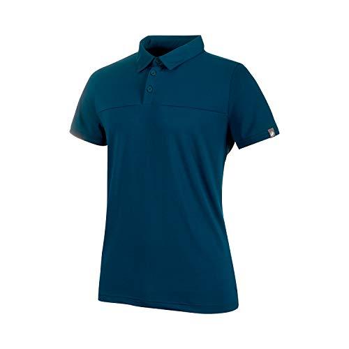 Mammut Herren Trovat Tour Polo-Shirt, Poseidon, XL - Patagonia Herren Polo-shirt