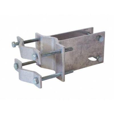 Befestigung Stange (TechniSat An-Rohr-Fitting (zur Befestigung an Mast oder Rohr für DigiDish 33/45 / SATMAN 33/45))