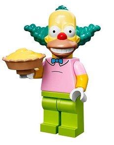 The Simpsons Lego Mini Figure Krusty The Clown 1