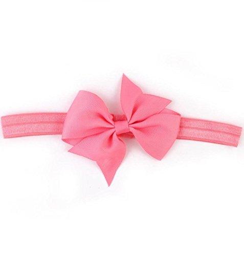 ZEZKT-Girl Baby Kind Mädchen Prinzessin Kristalldiamant Stirnband Blumen Haar-Band Süßes Baby Headband Prinzessin Stretch Stirnbänder Babygeschenke Taufe Geschenk (Wassermelone) (Haar Band Kostüm)