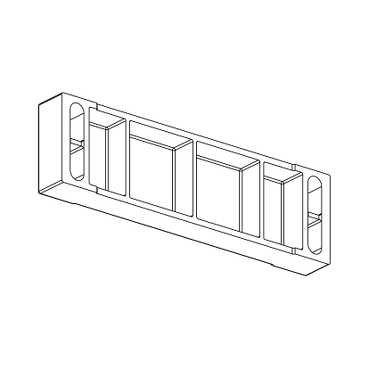 Telemecanique xcszcp cuña de montaje magnético para xcsdmp interruptores de bloqueo de...