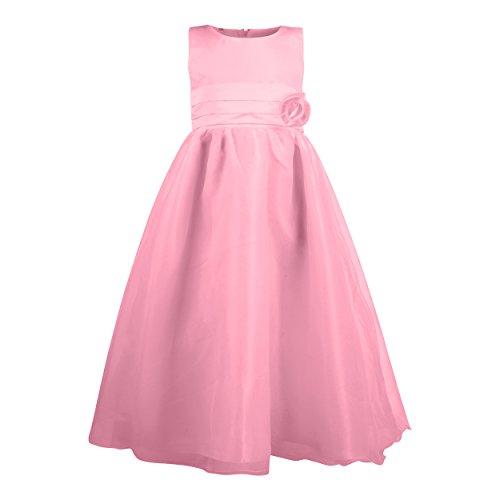 Imagen de katara  la niña de las flores, vestido de noche para niños de 4 5 años, color rosa