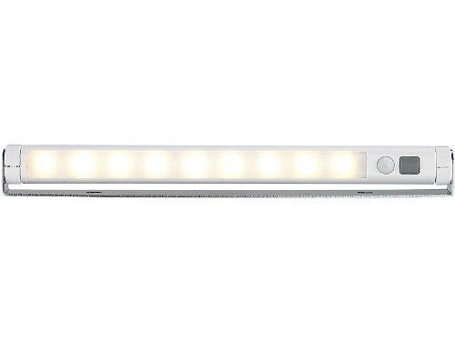 Unterbauleuchte 'WARM LIGHT' mit Sensorschalter - Kabellose SMD-LED Lichtleiste: Die universelle Anbauleuchte mit effizienten Leuchtdioden und drehbarem Leuchtkörper!