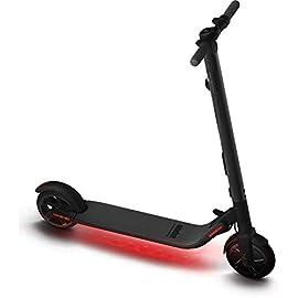 Ninebot by Segway ES2 Monopattino Elettrico Pieghevole, velocità massima 25km/h, Autonomia 25km, Nero
