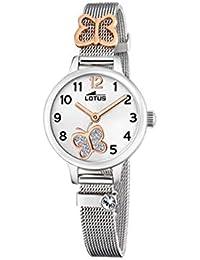 920dc124b179 Lotus - Reloj para Niña Mariposa Caja y Armis de Acero Cierre de Hebilla  18659