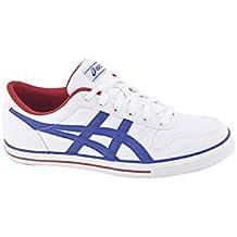 Asics Aaron GS - Zapatillas de tiempo libre y sportwear para hombre, color blanco azul, talla 39