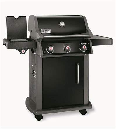Weber Spirit E-320 Original GBS Natural Gas Grill Cart Methane 9360 W Black - Barbecues & Grills (9360 W, Grill, methane, 3510 W, Crossover, Stainless Steel Burner System)