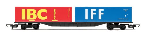 Hornby R6425 00 Gauge Container Wagon 2 X 30 Railroad Rolling Stock