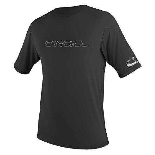 O'Neill Herren Basic Skins S/S Rash Tee Vest, Black, L