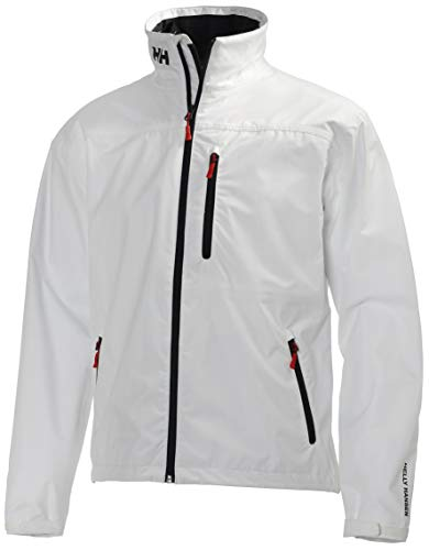 Helly Hansen Crew Midlayer Chaqueta deportiva impermeable, Hombre, Blanco Bright White, XXL