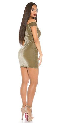 KouCla -  Vestito  - Senza spalline - Donna cachi