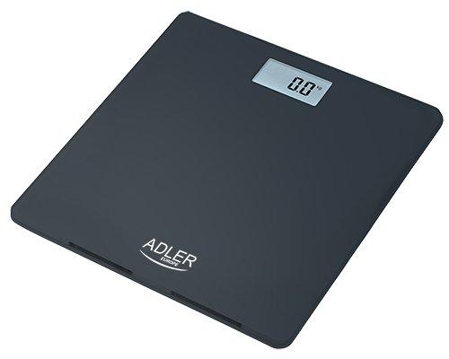 Adler AD-8157 Báscula de baño cristal negro