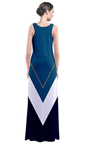 CowCow - Robe - Femme Bleu Bleu acier Turquoise