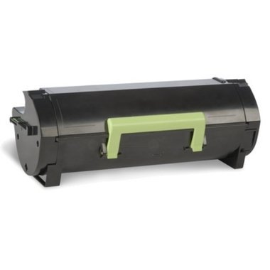 Original Toner passend für Lexmark MS 415 dn Lexmark 502, 502X, NO502X 0050F2X00 050F2X00 50F2X00 - Premium Drucker-Kartusche - Schwarz - 10000 Seiten