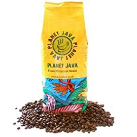 Planet Java Colombian Blend Smooth Roast Coffee Beans (1 kilo)