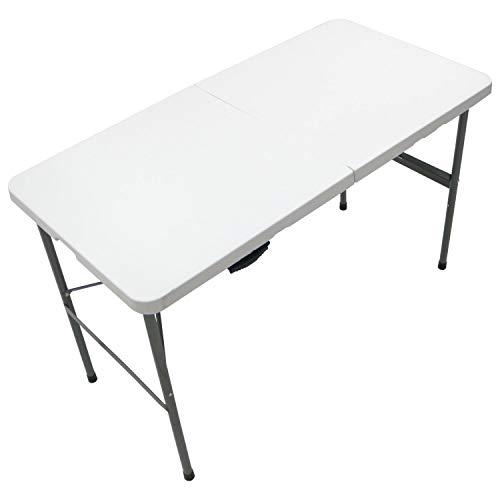 Oypla 4ft 1.2m pliant Heavy Duty Outdoor Party Trestle Table de jardin