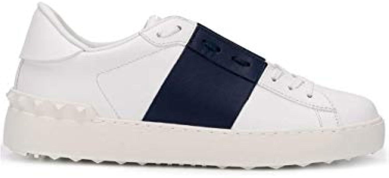 Mr.   Ms. Valentino scarpe da ginnastica Donna Rw2s0781blujn5 Pelle Blu moda moderno Conosciuto per la sua bellissima qualità | Ufficiale  | Maschio/Ragazze Scarpa