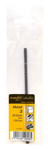 Augusta fogliame-Lame di ricambio per sega 12pezzi, 130mm per metallo No. 3fein, 08803AMA