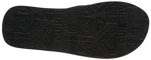 Quiksilver MOLOKAI NITRO M SNDL XKKW Herren Sandalen Mehrfarbig (BLACK/BLACK/WHITE)