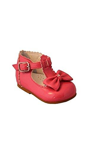 Stevva , Chaussures premiers pas pour bébé (fille) rose fuchsia - rose - fuchsia,