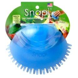 Snapi - The Single Handed Salad Server - Berry (Blue) by Snapi Blue Salad Server