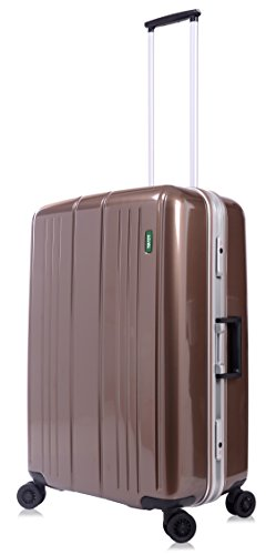 lojel-superlative-frame-polycarbonate-medium-upright-spinner-luggage-bronze-one-size