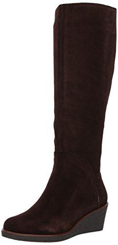 Aerosoles Women's Binocular Knee High Boot, Dark Brown Suede, 8 M US - Brown Knee High Boots