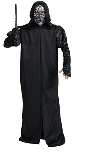 Kostüm Harry Kind Potter Dementor - KULTFAKTOR GmbH Todesser-Kostüm Harry Potter für Erwachsene schwarz-silberfarben Einheitsgröße