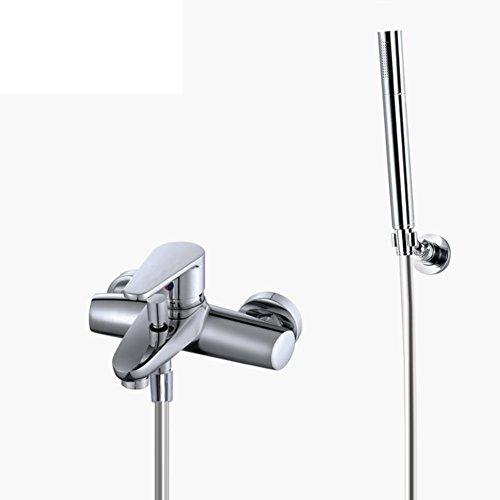 Grifos de pared de cobre Europea/Baño ducha mezclador/grifo de baño Kit-A