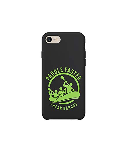 GlamourLab Deliverance Paddle Fast I Hear Banjos Funny Quote_R5267 Protective Case Cover Hard Plastic Compatible with for iPhone X/XS Funny Gift Christmas Birthday Novelty