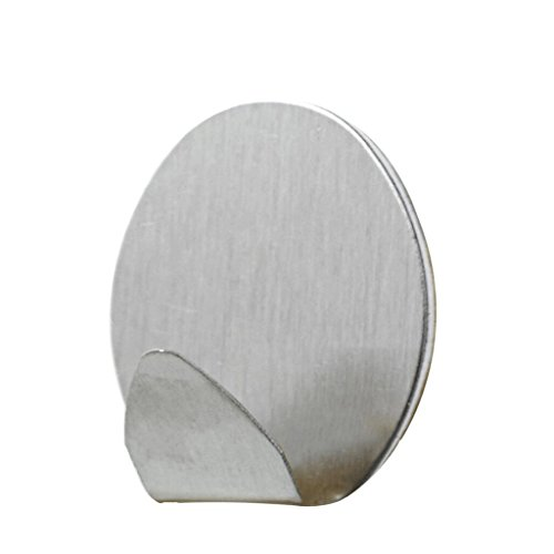 GAODUZI Familie durable medium edelstahl starke kleber klebrige haken schlüsselhaken bad küche wohnzimmer 4 * -