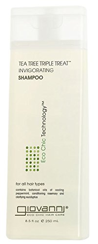 Giovanni Shampoo Tea Tree Triple Treat - 8.5 fl oz -