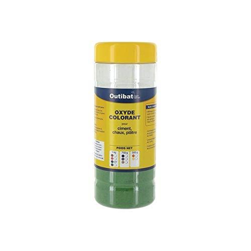 Colorant ciment synthétique Outibat - Vert - 1000 g
