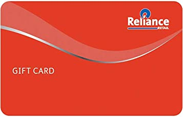 Reliance Retail  Gift Card