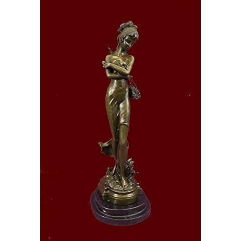 Escultura bronce estatua...Envío gratis...18.5