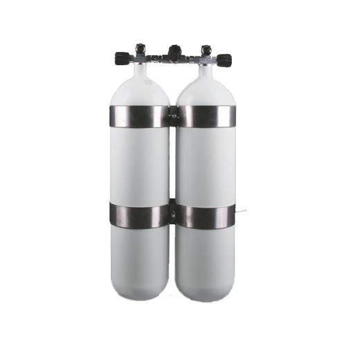 Cylindre euro Bouteilles en acier doubles 300 bars, 7 Litre