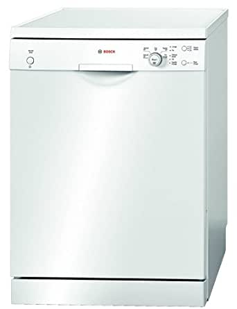 Bosch SMS50E12FF Autonome 12places A+ lave-vaisselle - Lave-vaisselles (Autonome, Blanc, Blanc, boutons, Rotatif, 1,7 m, 1,4 m)