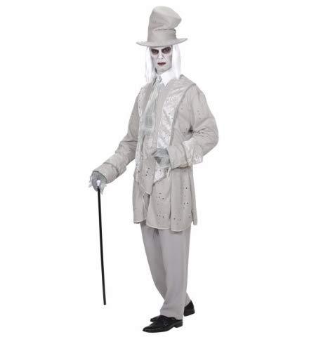 Nerd Clear Geister Bräutigam Kostüm | Karneval Verkleidung für Herren | Größe XL