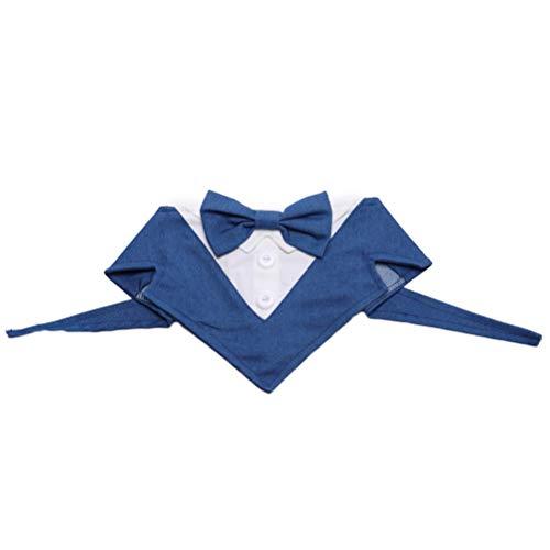Hund E Kragen Kostüm - POPETPOP Haustier Anzug Krawatte Formale Hund