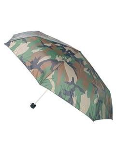Parapluie Pliant Telescopique Camo Camouflage Woodland Miltec 10635020 Airsoft Peche Chasse