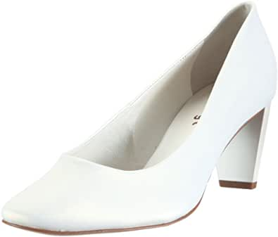 Högl shoe fashion GmbH 3-106406-03000, Damen Pumps, Weiss (perlweiß 0300), EU 34.5 (UK 2.5)