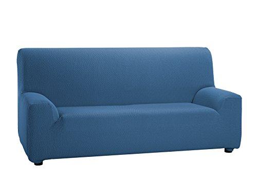 Martina Home - Copridivano elastico, 3 posti da 180 a 240 cm di larghezza., colore Azzurro