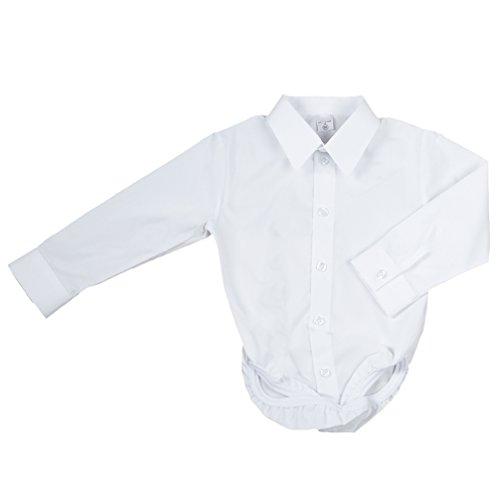 Baby Hemd - Body für Jungen weiß klassisch Modell A-1991 Gr. 62