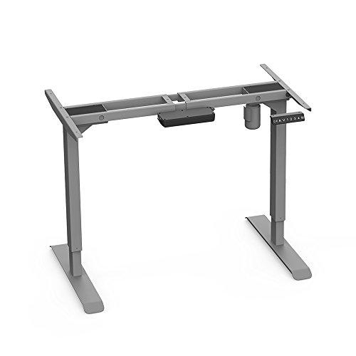 AIMEZO Höhenverstellbarer Schreibtisch Elektrisch höhenverstellbares Tischgestell, 2-Bühne Hebe...