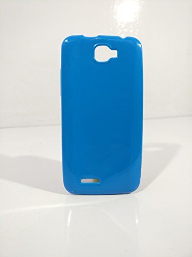 iCandy™ Colorfull Thin Soft TPU Back Cover For Micromax Canvas Mad A94 - Turquoise  available at amazon for Rs.109